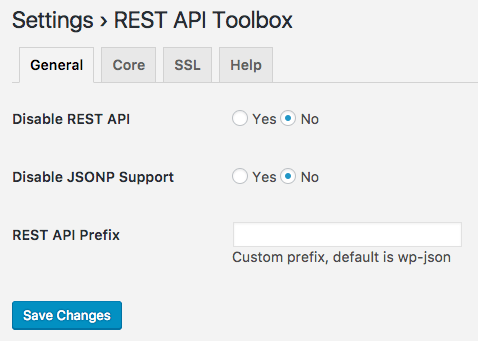 REST API Toolbox