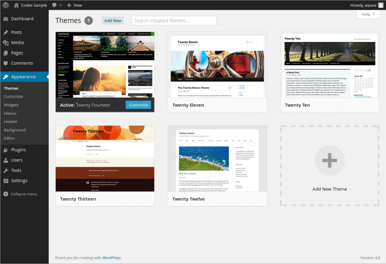 check theme - error uploading pictures wordpress
