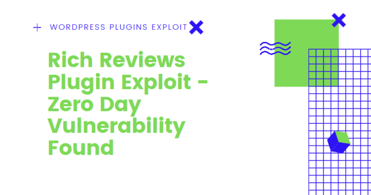 zero day vulnerability in rich reviews plugin exploit wordpress