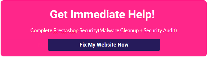 Prestashop Hacked_Vulnerabilities_Store_cleanup