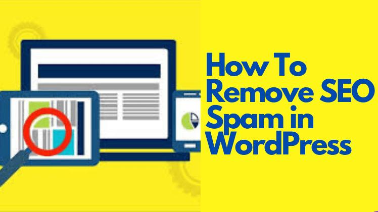 Remove SEO Spam in WordPress