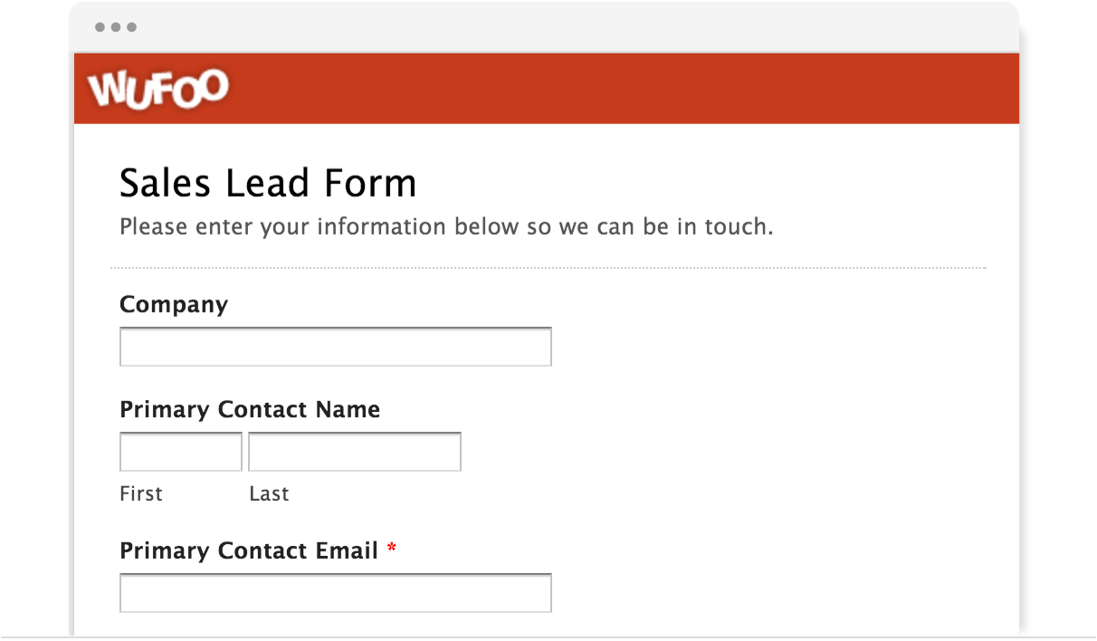 Information Forms Templates
