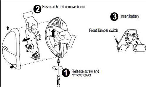 Reset NEXT K85 SMA Motion Sensor