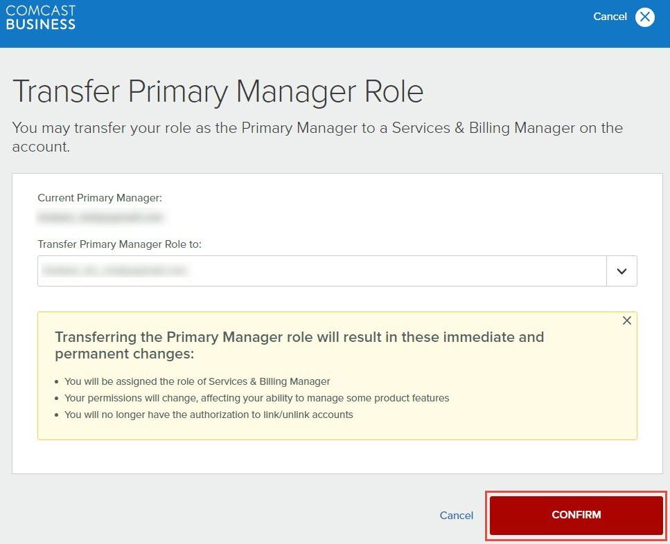 Comcast Online Service Payment