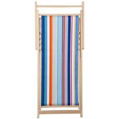 Deck Chair Sling Replacement Rug Hooked Pad Patterns French Striped Deckchair In Acrylic Fabric Buy Online
