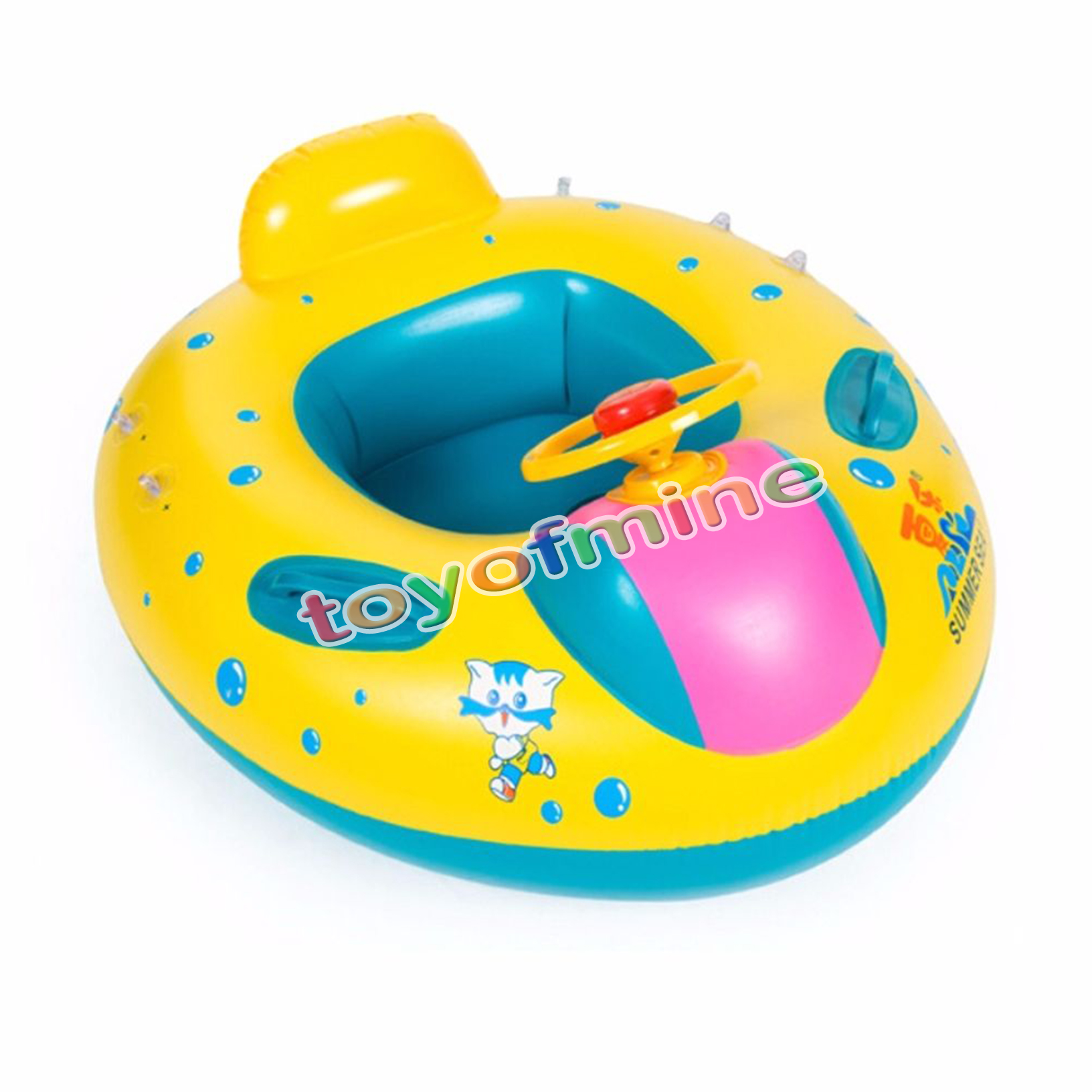baby blow up ring chair best posture uk inflatable toddler swim float kid swimming pool
