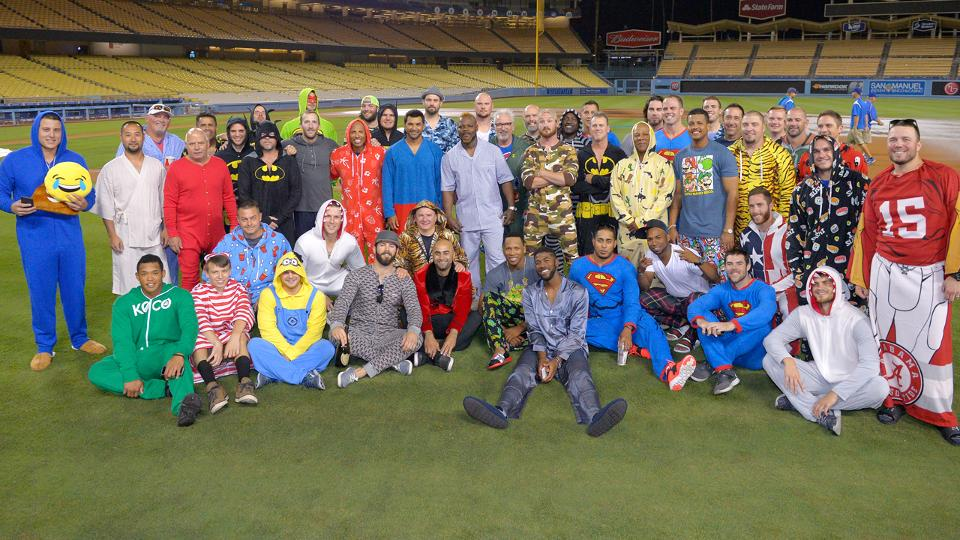 cubs wear onesies from