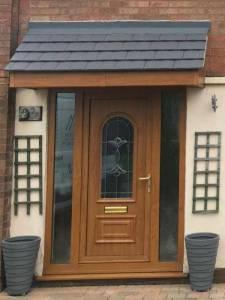 New Door Installed In Mansfield