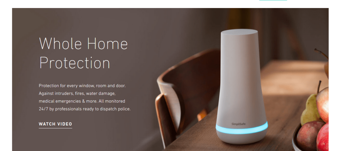 simplisafe best home security system protection
