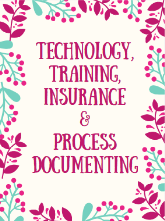 technology training insurance process documentation