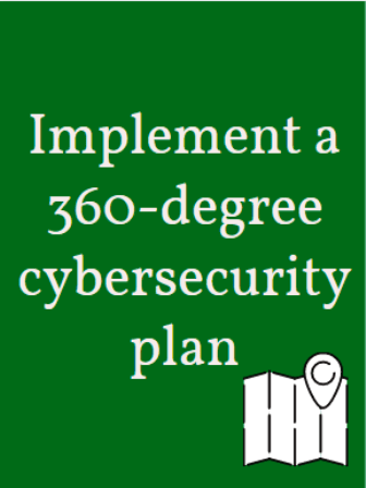 implement 360 cybersecurity plan