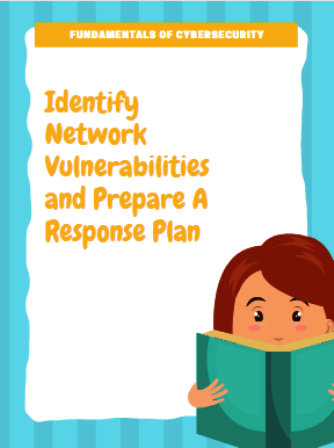 network vulnerabilites cybersecurity response plan