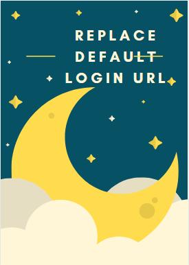Change the default login URL