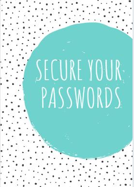 Secure your passwords website security