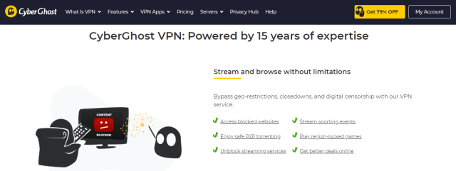 cyberghost vpn for china