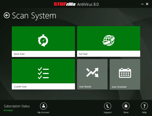 stopzilla antivirus features