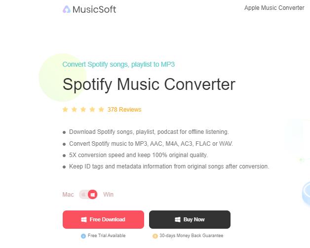 AMusicSoft Spotify Music Converter