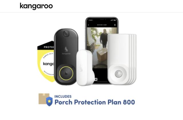 Kangaroo Home Security camera