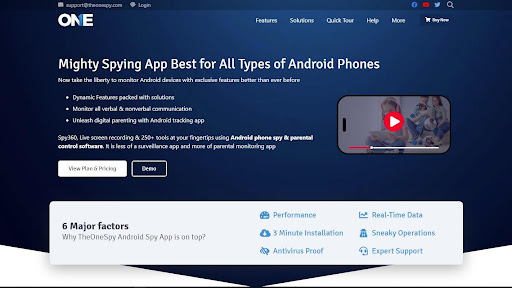 TheOneSpy Android spy App You Need To Know