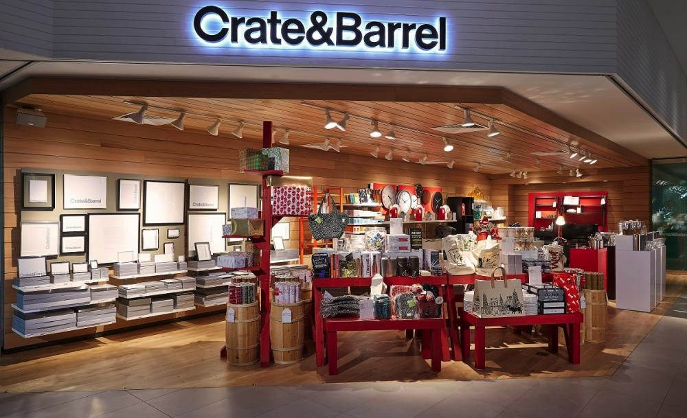Crate And Barrel Floor Mirror
