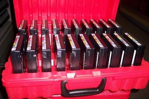 Offsite tape storage