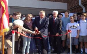 solar launch at Albemarle County schools