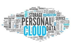personal cloud infographic