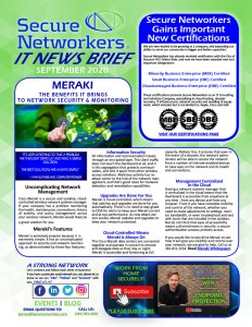 Secure Networkers IT News Brief September 2020