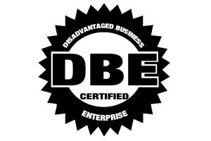 Disadvantaged Business Enterprise (DBE) Certified