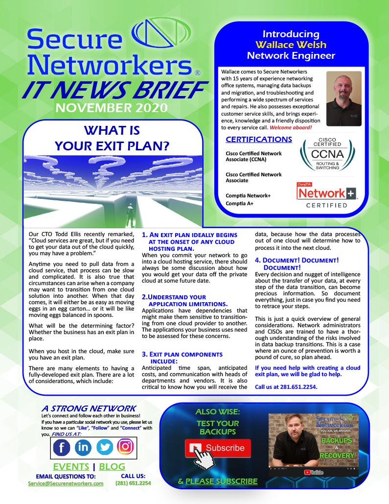 IT News Brief Nobember 2020