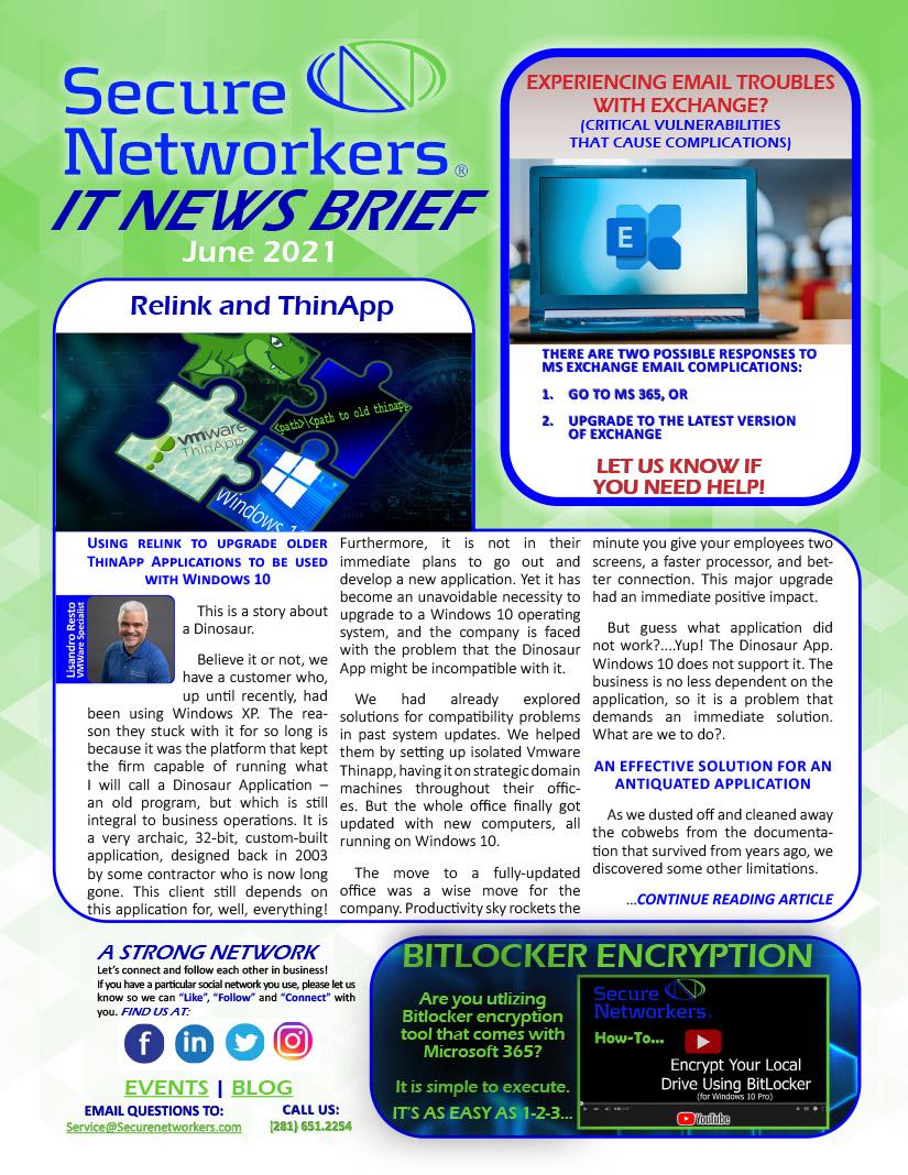 IT News Brief June 2021