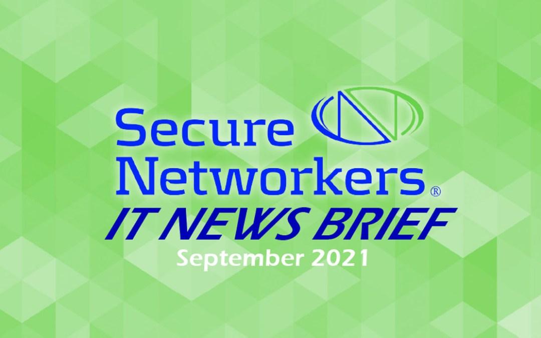 IT News Brief September 2021