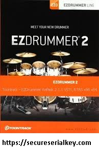EZdrummer 2.1.8 Crack with Full Serial Key 2020