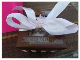 1-box of 8 Chocolate Bath Melts