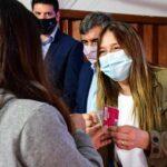 El municipio de Merlo y el Enacom entregaron 6 mil tarjetas para que estudiantes puedan tener conectividad en barrios populares