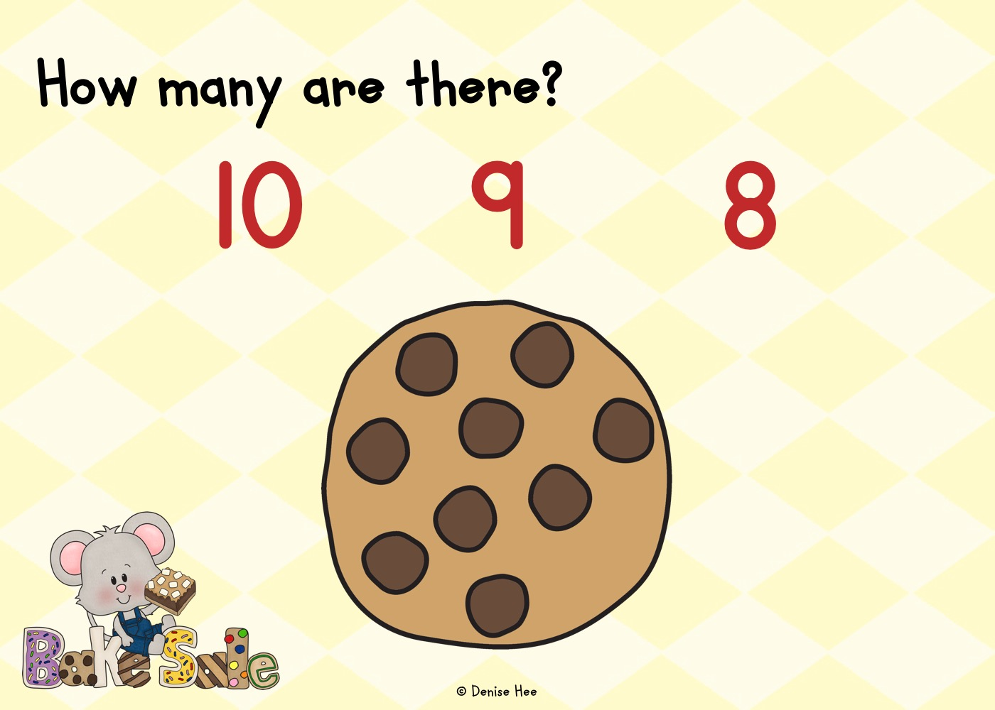 Count The Chocolate Chips 1 10