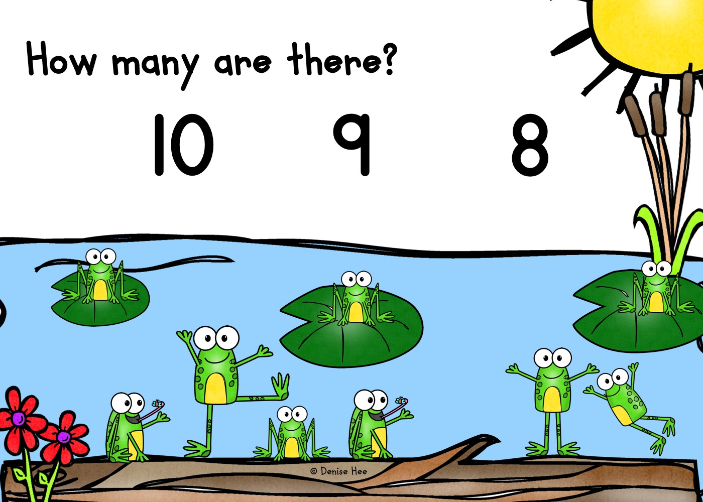 Count The Frogs 1 10