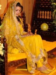 Pakistani Wedding Mehndi Dress Designs 2016 5