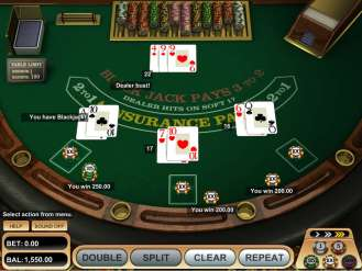 American Blackjack Strategy