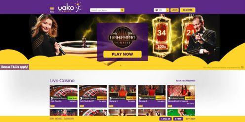 Yako Casino Live Dealer