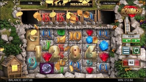 Bonanza mega slots casino