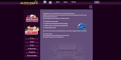 SlotsMagic Casino VIP
