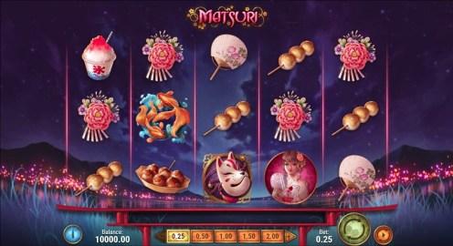 Matsuri slot game review