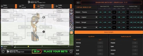 Virtual World Cup casino