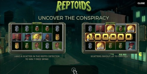 Reptoids slot review