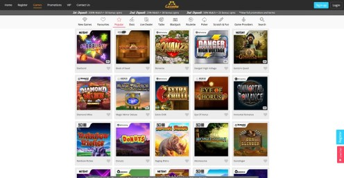Casimba online casino review