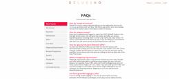 Deluxino FAQ