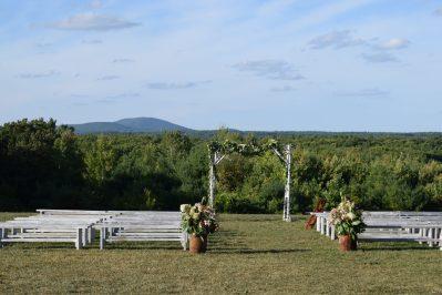Mount Wachusett sets the backdrop