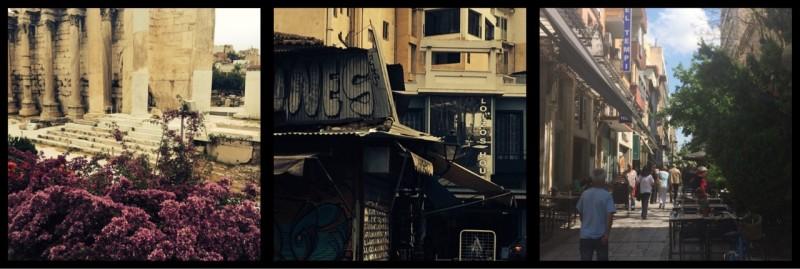 Pl.aka Athens. Greece.