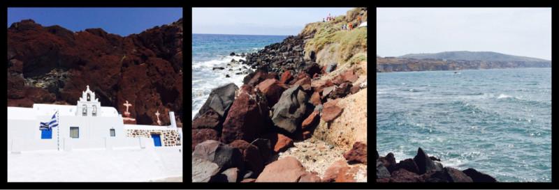 Red Beach (Kokkini Beach) Santorini Greece